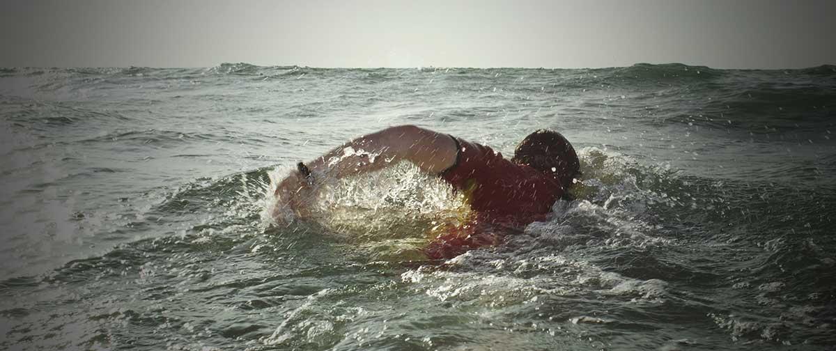 Lær at svømme i havet